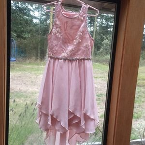 Girls sz 7 formal dress